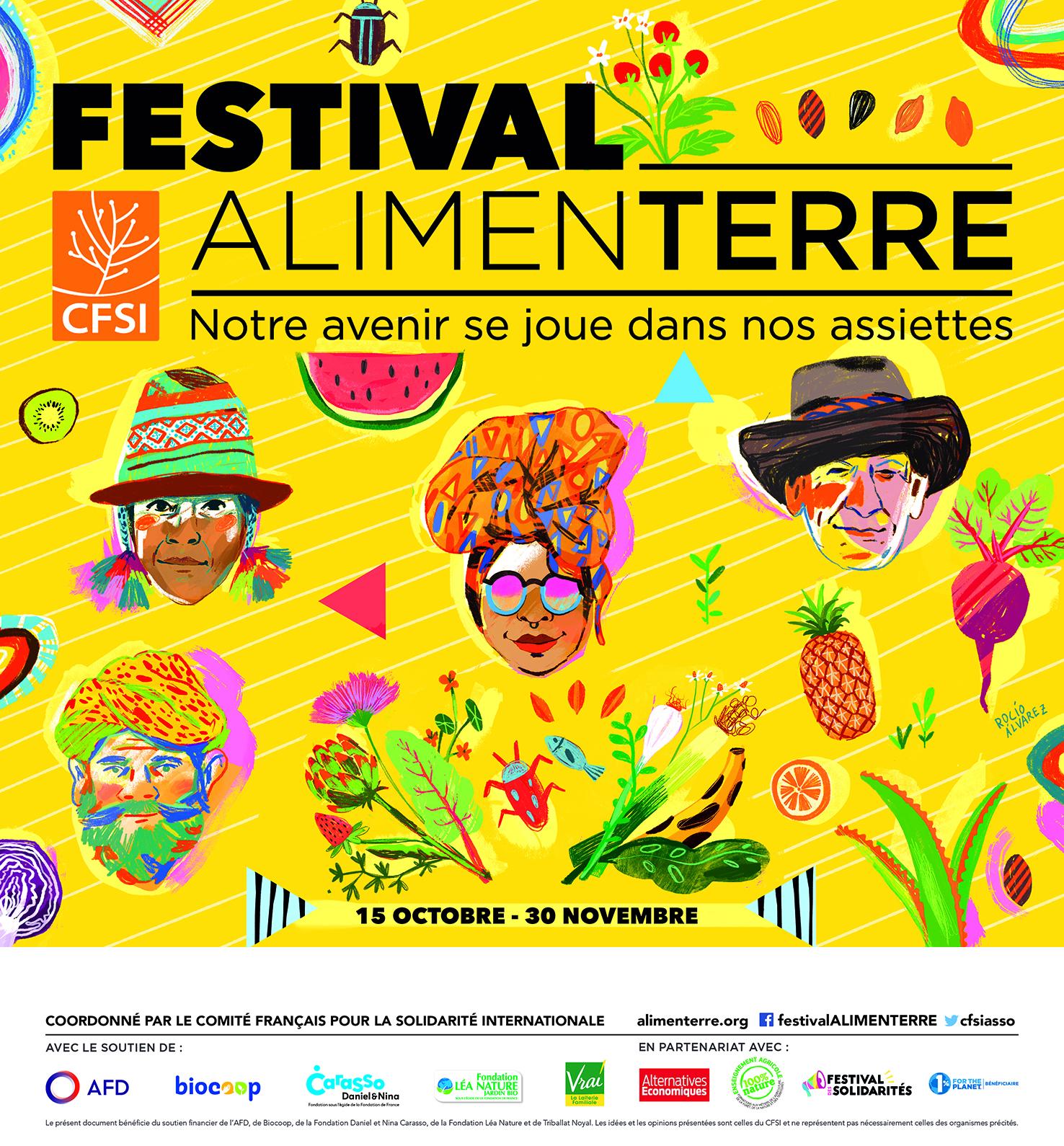 1ère édition 2019 du Festival AlimenTERRE au Centre La Vie en Vert : une réussite  !