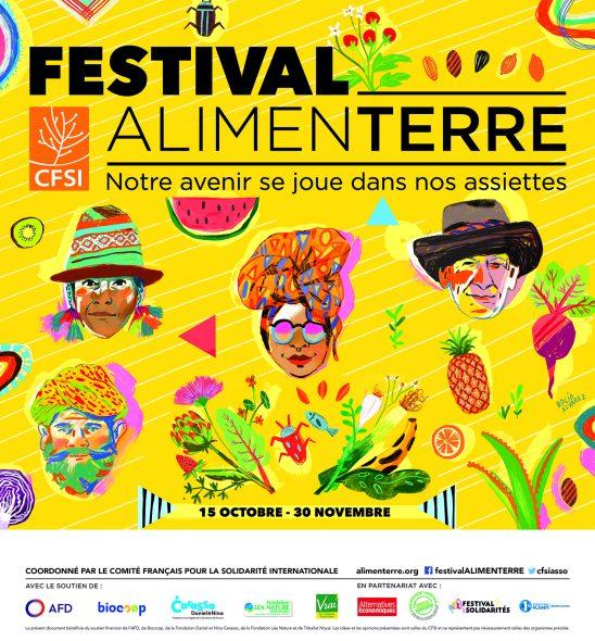 Festival AlimenTERRE au Centre La Vie en Vert